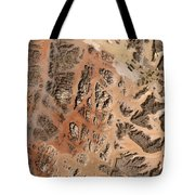 Ram Desert Transjordanian Plateau Jordan Tote Bag