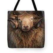 Ram Portrait Tote Bag