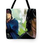 Rambo Artwork Tote Bag
