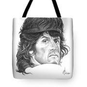 Rambo-sylvester-stallone Tote Bag by Murphy Elliott