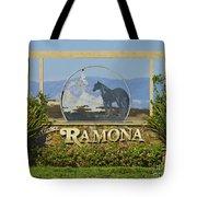 Ramona Welcome Tote Bag
