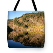 Rampart Ridge In Rachael Lake Tote Bag