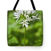 Ramsons Wild Garlic Allium Ursinum Tote Bag