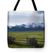 Ranch Beneath The Rubies Tote Bag