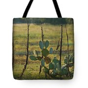 Ranch Cactus Tote Bag