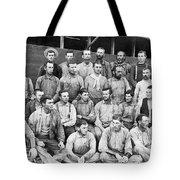 Ranch Cowboys Portrait Tote Bag