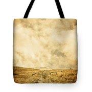 Ranch Gate Tote Bag