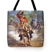 Ranch Rodeo Time Tote Bag