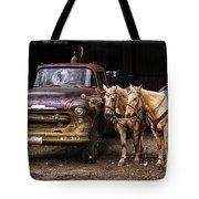 Ranch Transportation Tote Bag