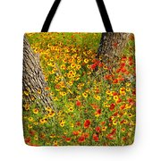 Ranch Wildflowers And Trees 2am-110522 Tote Bag