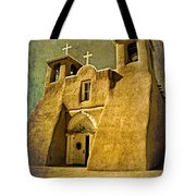 Ranchos Church In Old Gold Tote Bag