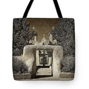 Ranchos Gate On Rice Paper Tote Bag