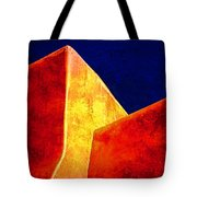 Ranchos In Orange And Yellow Tote Bag by Carol Leigh