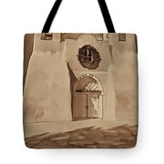 Ranchos In Palladium Tote Bag
