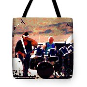 Randy And Ed And The White Elephant Tote Bag