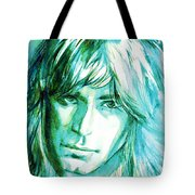 Randy Rhoads Portrait Tote Bag