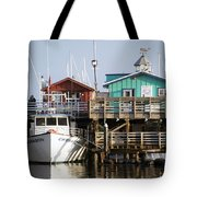 Randys Whale Watching And Fishing Trips Tote Bag