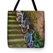 Range Of Bikes Tote Bag