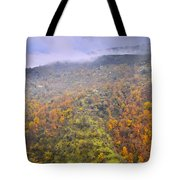 Raniy Days In Automn Tote Bag