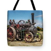 Ransomes Steam Engine Tote Bag