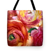 Ranunculus Close-up Tote Bag