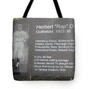 Rap Dixon Tote Bag