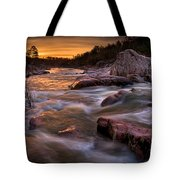 Rapids At Dawn Tote Bag