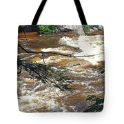 Rapids Of The Swift River Kancamagus Hwy View White Mountains Nh Tote Bag