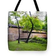 Rapps Covered Bridge Over French Creek Tote Bag