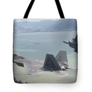 Raptor And Eagle Tote Bag