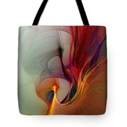 Rapture Of The Deep-abstract Art Tote Bag