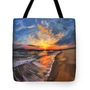 Rare California Sunset Tote Bag