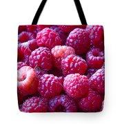 Homegrown Organic Raspberries, Chiloquin Oregon Tote Bag
