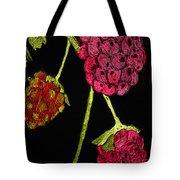 Raspberry Fabric Tote Bag