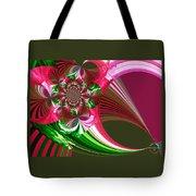 Raspberry Garden Tote Bag
