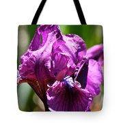 Raspberry Jam Iris Tote Bag