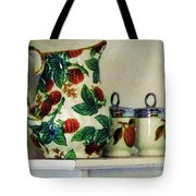 Raspberry Pitcher Tote Bag
