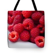 Raspberry Red Tote Bag
