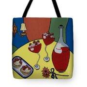 Raspberry Wine Tote Bag