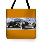 Rat Rod On Route 66 2 Panoramic Tote Bag