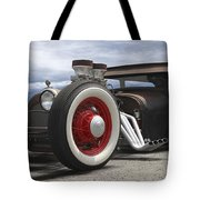 Rat Rod On Route 66 Panoramic Tote Bag