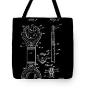 Ratchet Wrench Patent Tote Bag