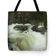 Rauma Waterfall Panorama Tote Bag