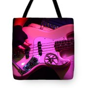 Raunchy Guitar Tote Bag by Bob Christopher