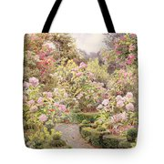 Raundscliffe - Everywhere Are Roses Tote Bag
