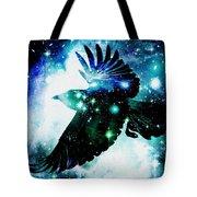 Raven Tote Bag by Anastasiya Malakhova