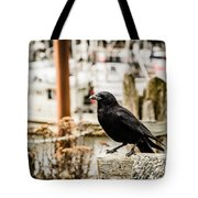 Raven Ucluelet  Tote Bag