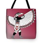 Raven Dancer Tote Bag