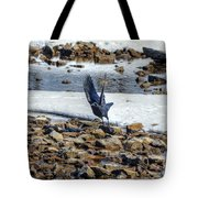 Raven Departs Tote Bag