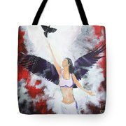 Raven Freed Tote Bag